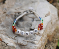 Personalized name bracelets make great gifts!